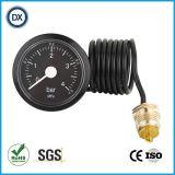 газ или жидкость давления поставщика манометра давления воздуха капилляра 007 25mm