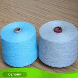 Hilo de algodón barato reciclado del precio bajo para los pantalones vaqueros