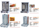 Gaz réglable Shawarma/chocolat Shawarma/machine Shawarma de gaz