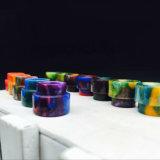 2016년 Vivismoke 도매 510 Vape 드립 끝 가져오기 에폭시 수지 드립 끝은 다채로운 에폭시 드립 끝을 적합했다