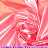 Tafetá de nylon com o revestido brilhante do plutônio para para baixo revestimentos