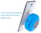 Mini altavoz Bluetooth de la taza portable de la succión para el uso al aire libre