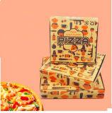 Rectángulo personalizado de la pizza que expide