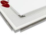 Techo suspendido del metal perforado invisible material del marco de la aleación de aluminio