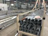Profilé en aluminium avec pulvérisation de poudre pour mur en rideau en verre