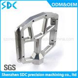 Pedal de alumínio fazendo à máquina das peças do CNC do projeto do cliente/
