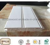 固体マツ木現代デザイン装飾的な台所壁パネル