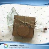 Contenitore di regalo impaccante sveglio dei monili della carta kraft Con gli accessori (xc-pbn-025b)