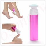 2016 Professional 2in1 Electronic Feet Callous Remover Ferramenta de cuidados com os pés Conjunto de uncador de unhas Shiner Battles Operated