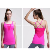 Any Color Ladies Workout Gym Sports Fitness 100 coton débardeur