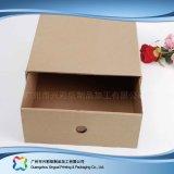 Gewölbtes Papier-Fach-Verpackungs-Geschenk-Kleid-Kleidung-Schuh-Kasten (xc-aps-005)