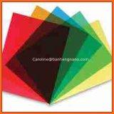 Colore blu trasparente rigido della pellicola di Shrink del PVC per Thermoforming