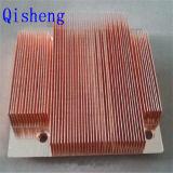 Disipador de calor, cobre o aluminio que raspa
