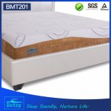 Soem-komprimierte preiswerte Schwamm-Matratze 20cm hoch mit entspannendem Speicher-Schaumgummi und abnehmbarem Deckel