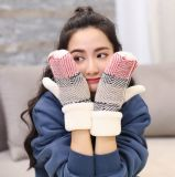 New Ladies Warm FULL Finger Gloves Winter Thickening Gloves