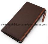 Mann-Form-Geschäfts-echtes Leder-Karten-Mappen-Fonds-Handtasche