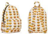 Emoji Lächeln-Gesichts-Schule-Rucksack-im Freienrucksack Yf-Lb1679
