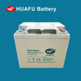 bateria acidificada ao chumbo do uso solar de 12V 40ah