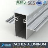 Perfil de aluminio de Suráfrica para el bronce anodizado puerta de la ventana