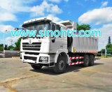 Shacman D'long 6X4 팁 주는 사람 트럭 11cbm 수용량
