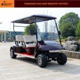 Il Ce ha certificato il carrello di golf elettrico di 4 Seater per il terreno da golf
