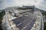 내식성 편평한 지붕 중합체 태양 설치 구조
