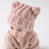 2017 Nieuw kom haken de Hoed van de Baby aan