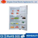 110V autoguident le réfrigérateur d'Américain de réfrigérateur d'acier inoxydable de double porte de réfrigérateur