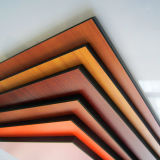 10mm dekoratives HPL Blatt des hölzernen Korn-