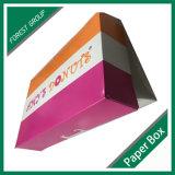 Rectángulo de empaquetado del buñuelo del buñuelo del papel de categoría alimenticia