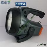 Neue nachladbare 10W CREE LED Handlampe mit PAS
