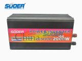 DC 48V инвертора солнечной силы Suoer 2000W к инвертору силы AC 220V (HAD-2000F)