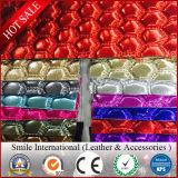 Cuir synthétique de PVC de la distribution rapide de production pour des sacs