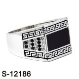 Argento 925 dell'anello dei monili di modo di Hotsale della fabbrica