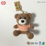Do presente padrão feito sob encomenda do Ce do urso de Brown da qualidade brinquedo do luxuoso o melhor