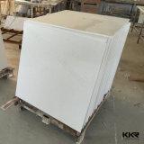Tegels van de Vloer van het Kwarts van het Zinkwit de Kunstmatige Marmeren voor Badkamers (Q1703164)