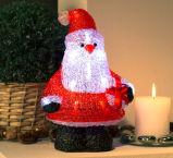 Iluminação do diodo emissor de luz da decoração do Natal de Santa com caixa de Gigt
