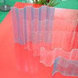 絶縁体のパネルのためのポリカーボネートの反腐食性の固体波形シート