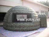 Tente de Camping en Plein Air Gonflable Militaire