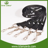 Cheap Animal Impreso cuello Lanyards con serigrafía