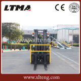 Piccolo carrello elevatore cinese della benzina da 2.5 tonnellate GPL
