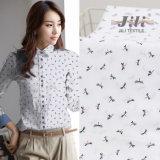 安いTc65/35 45s*45s 133*72の女性のワイシャツのためのトンボによって印刷される編まれたポプリンファブリック