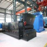 Caldaia a vapore infornata carbone orizzontale industriale del Doppio-Timpano di Szl10-3.82MPa