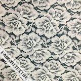 100%Nylon de Stof van het Kant van het Patroon van de bloem voor Kleding