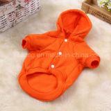 Vêtements d'animal familier de chandail de coton de crabot de type occasionnel