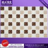 Azulejo de cerámica de la pared de la dimensión de una variable del ladrillo de la inyección de tinta barata del precio del mercado de Alibaba China