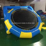 Castello gonfiabile di /Jumping del parco di divertimenti della sosta dell'acqua