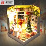 2017 дом куклы игрушки DIY нового малыша конструкции деревянная с днем рождения мебели самым лучшим желает день с Рождеством Христовым