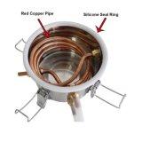 Kingsunshine 10L/3gal DIY Moonshine beruhigt kupfernen Spiritus-Destillierapparat-Ausgangsgebrauch