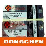 Étiquettes libres de fiole d'hologramme de Cypionate de testostérone de modèle